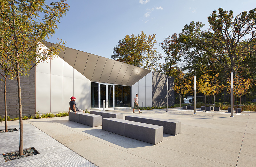Straight river rest area snow kreilich architects 1 publicscrutiny Image collections